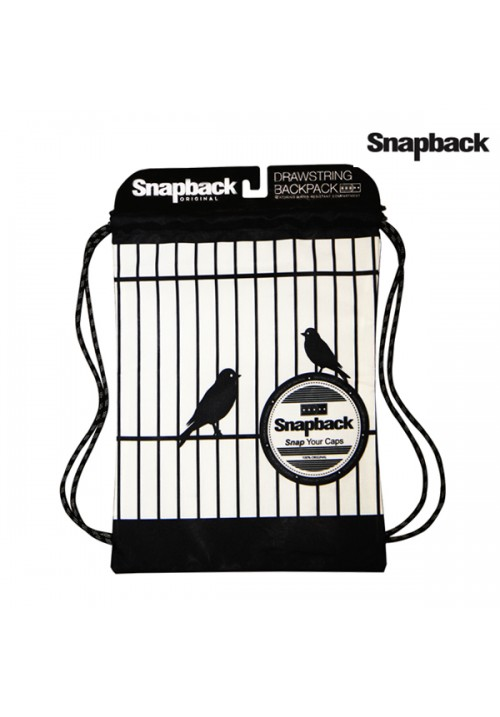 Drawstring Backpack Bird