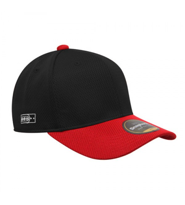 Flexfit Sport Baseball Black Red
