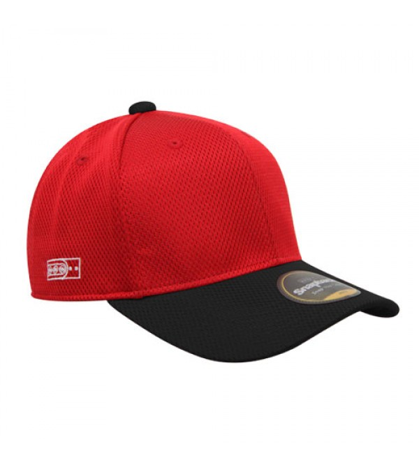 Flexfit Sport Baseball Red Black