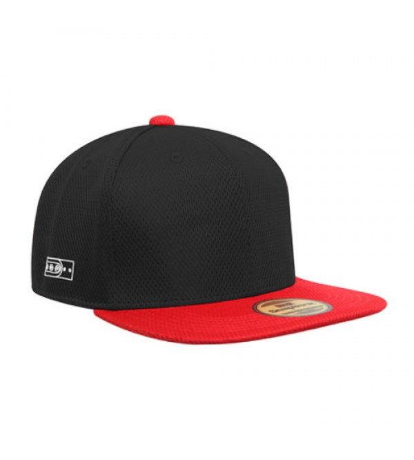 Flexfit Sport Hiphop Black Red