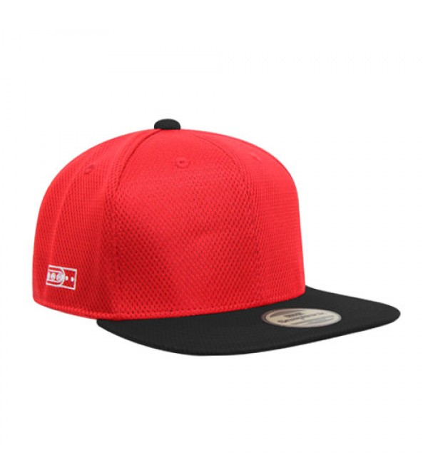 Flexfit Sport Hiphop Red Black