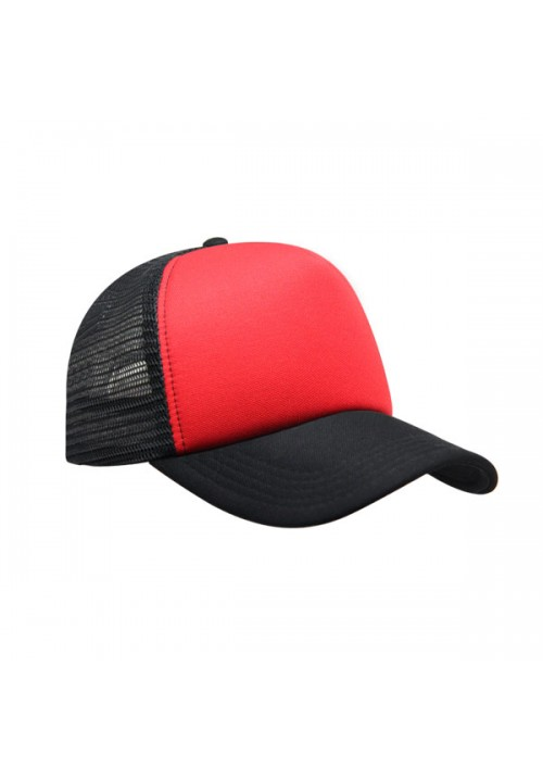 Trucker Red Black 2