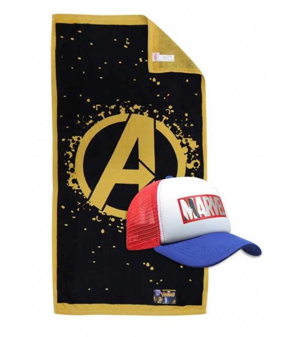 Marvel Towel and Caps - The Avangers