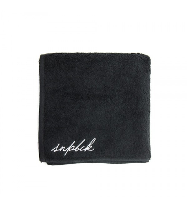 Travel Black Towel