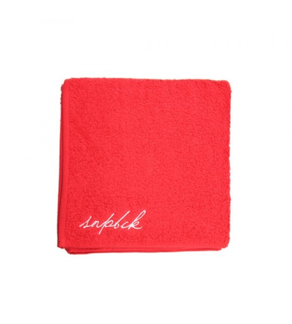 Travel Red Towel